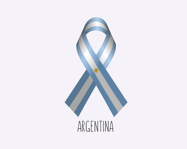 Rouw om Argentinië vector