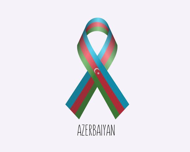 Azerbaiyan treurend vector