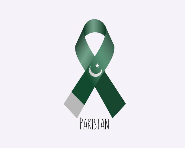 Rouw Pakistan lint vector