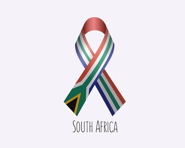 Rouw om Zuid-Afrika vector