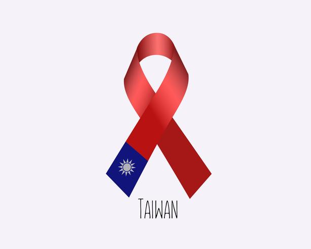 Rouw Taiwan lint vector