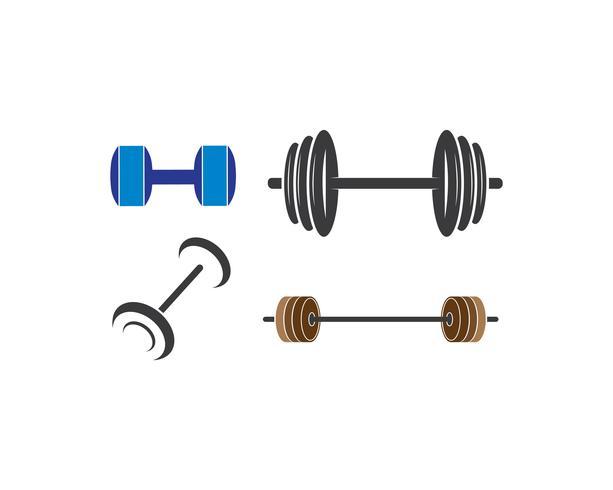 barbell pictogramserie vector