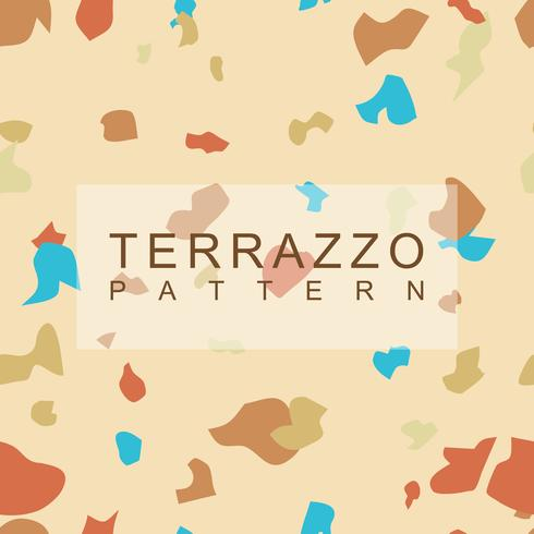 Terrazzo patroon achtergrond vector