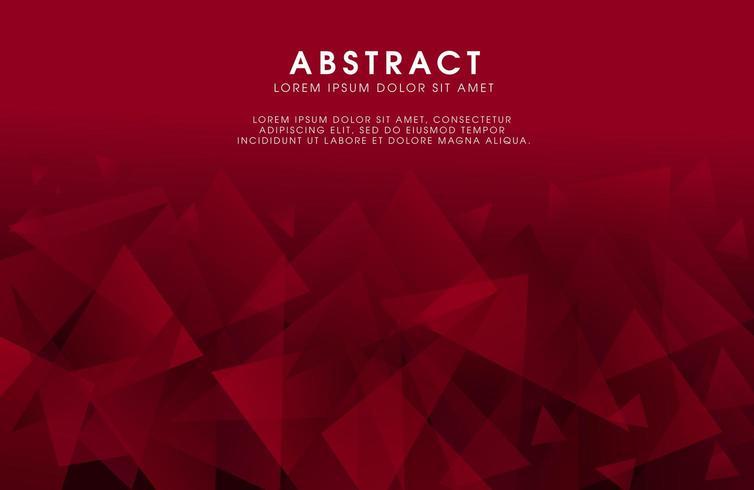 Abstract modern veelhoekig bannerontwerp als achtergrond vector
