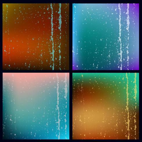 grunge textuur achtergrond ingesteld vector