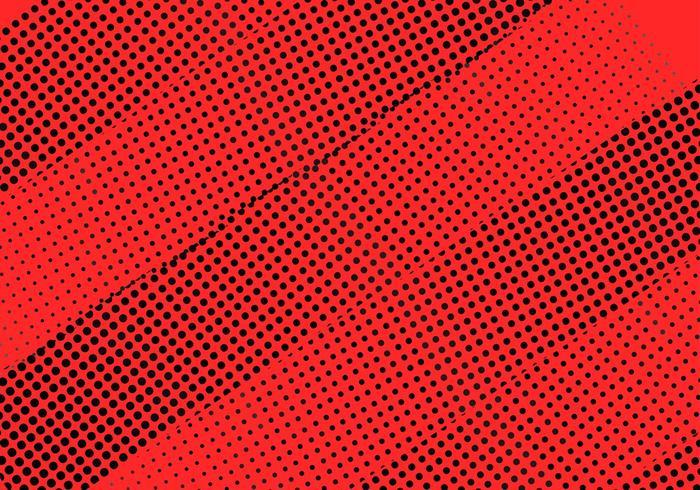 Rode samenvatting gestippelde streepachtergrond vector