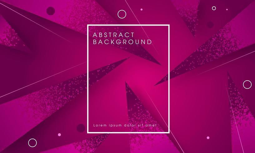 Modern geometrisch abstract paars vector
