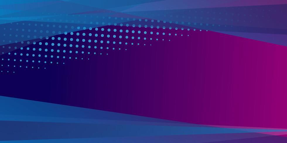 Minimale geometrische achtergrond met dynamische vormen vector
