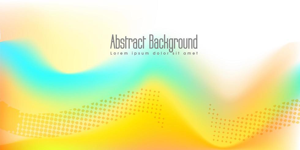 Gele kleur banner achtergrond vector