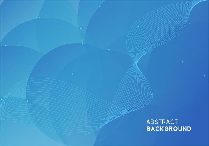 Blauwe minimale abstracte achtergrond vector