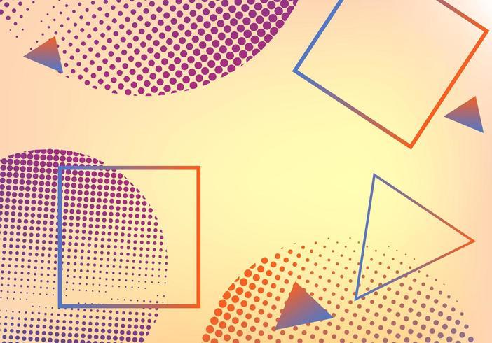 Abstracte moderne geometrische achtergrond vector