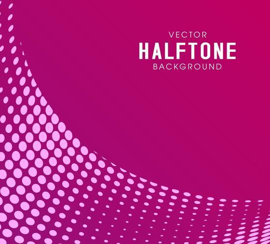 Leuke minimale roze abstracte halftone vector