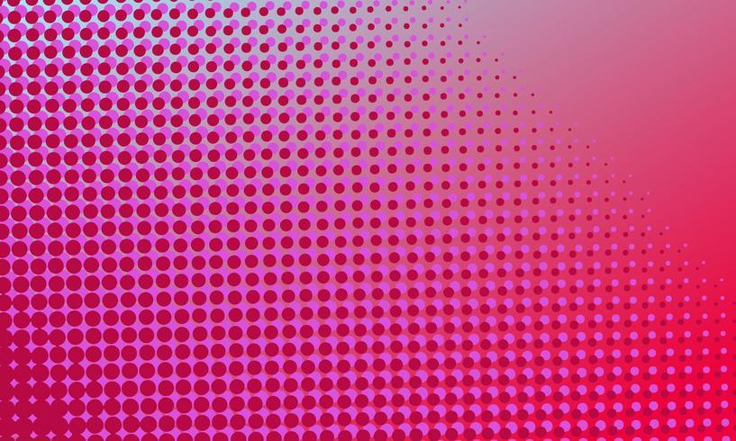 Roze halftoonontwerp vector
