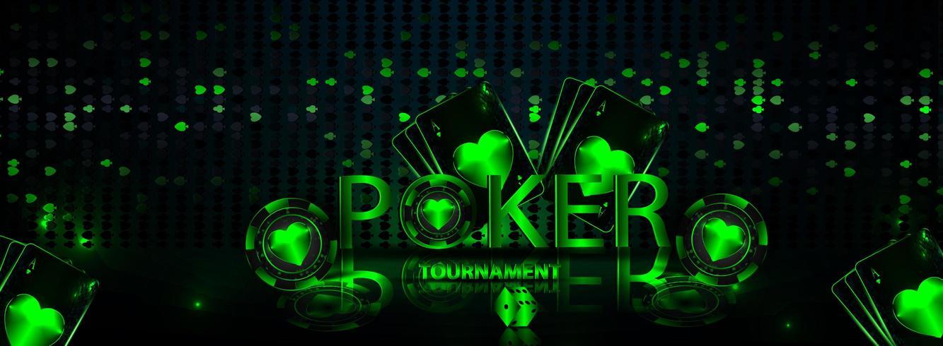 banner casino goktoernooi vector
