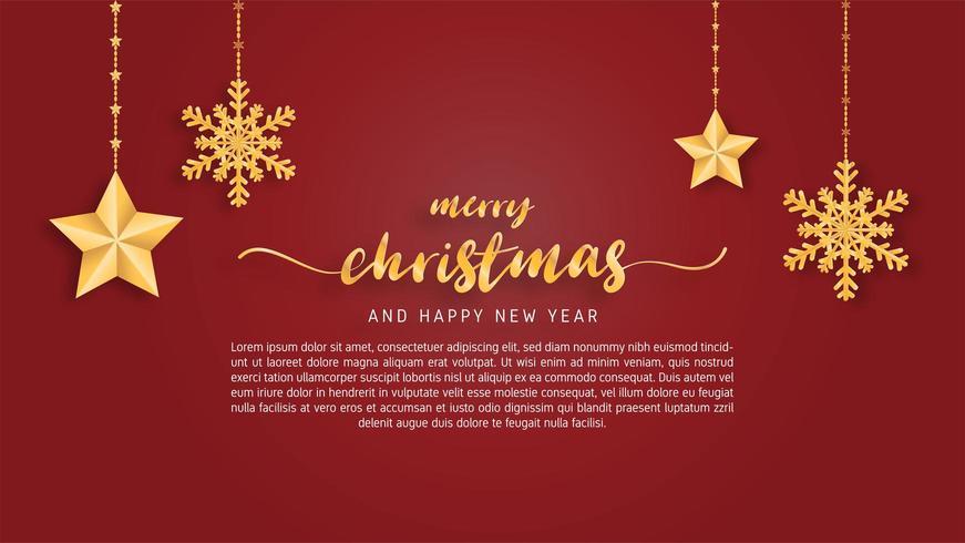 De vrolijke Kerstkaart op papier sneed stijlachtergrond vector