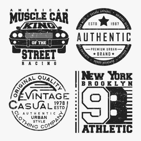 T-shirt print ontwerp vector