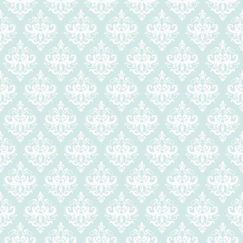 Damast naadloze patroon achtergrond. vector