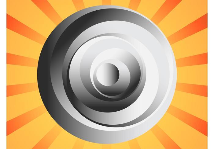 Abstracte cirkel Logo vector