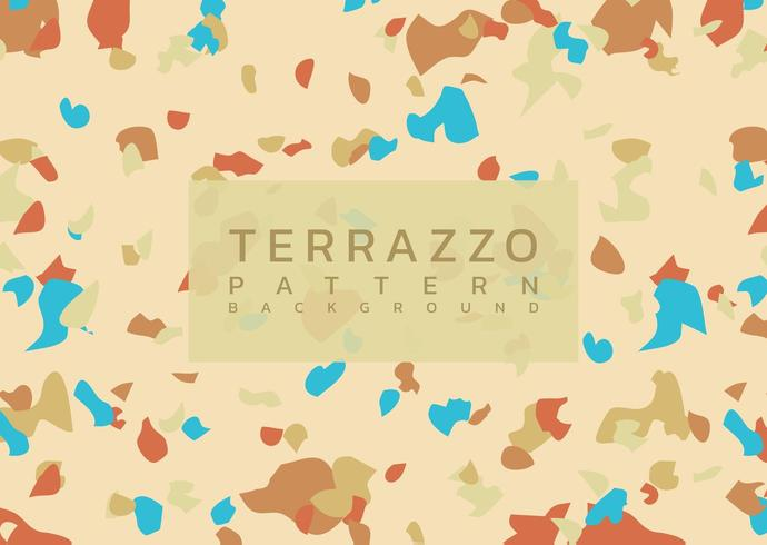 Terrazzo moderne marmeren achtergrond vector