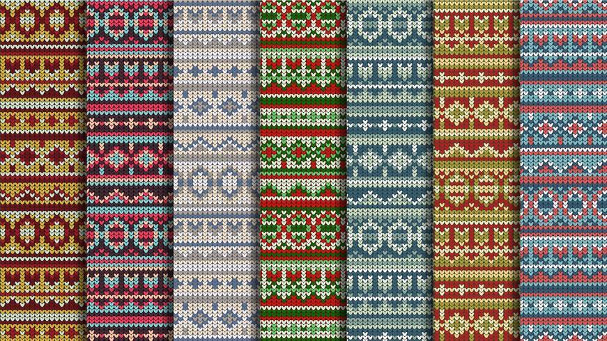 Winter jumper naadloze patroon vector