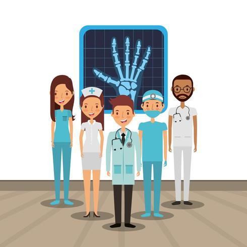 medische zorgkaart vector