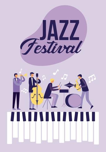 Jazzfestival Poster vector