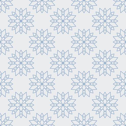 naadloze bloem pioen patroon vector