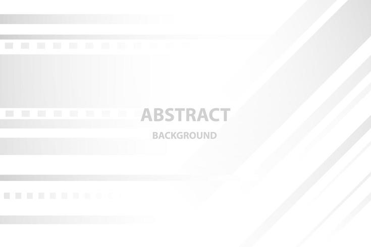 witte en grijze elegante abstracte achtergrond, glans en vlotte sjabloon. vector