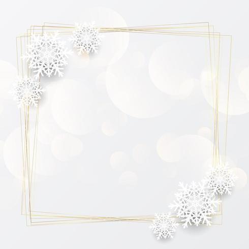 Elegant Kerst achtergrond vector