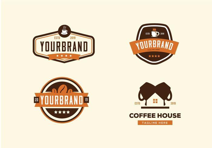 Coffeeshop Collectie Set vector