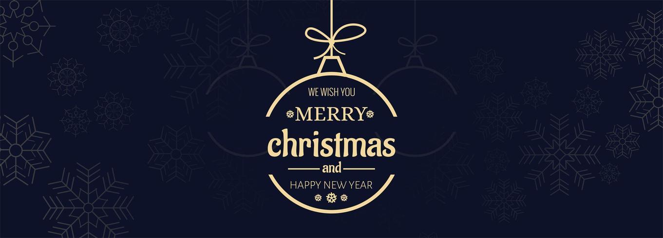 Happy Merry Christmas voor wenskaart posterontwerp banner vector
