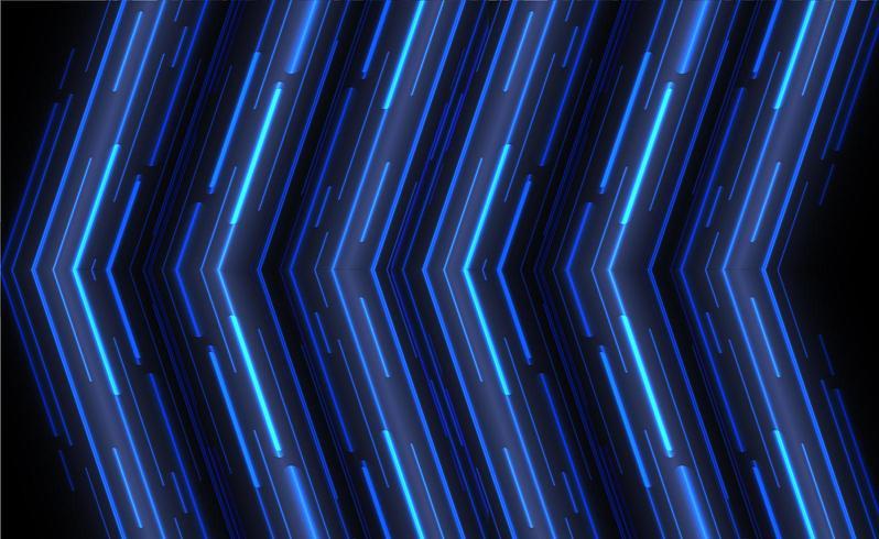 Blauwe hoek pijl overlappen vector achtergrond met ruimte voor tekst