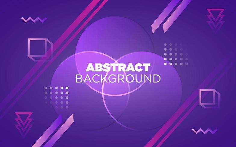 futuristische neon en paarse abstracte achtergrond vector