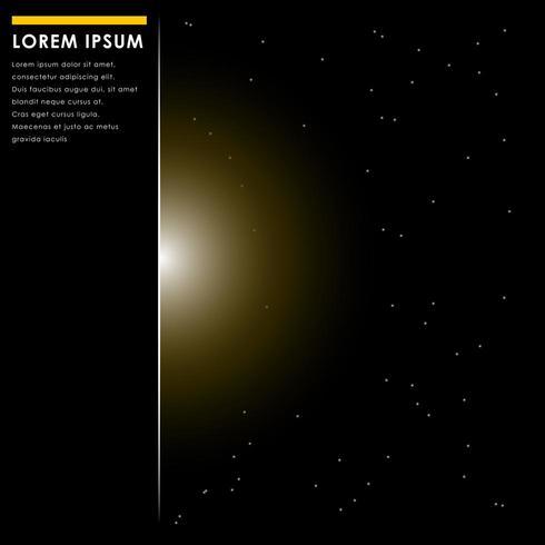 gouden abstract luxe digitale gegevens en technologieconcept, achtergrond vector