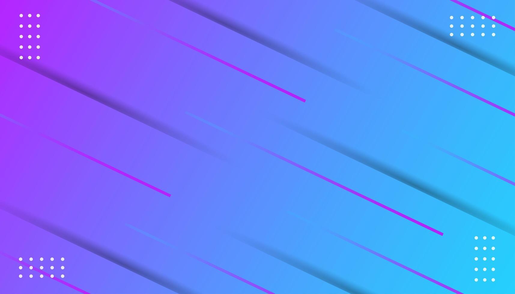 Verloop moderne lijn en puntenachtergrond vector