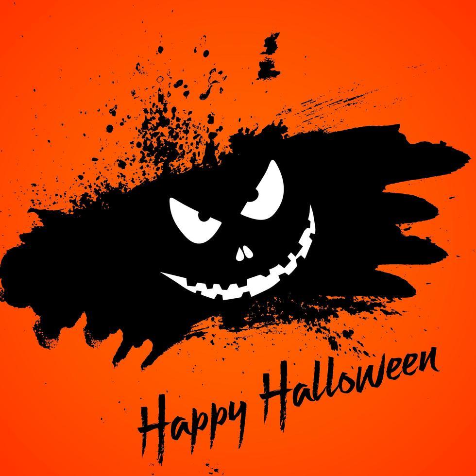 Grunge Halloween-achtergrond vector