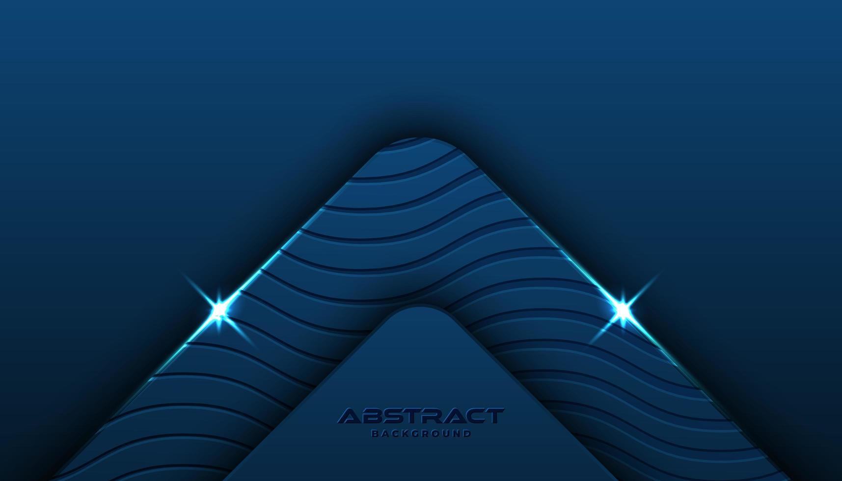 Klassieke blauwe getextureerde schuine achtergrond vector