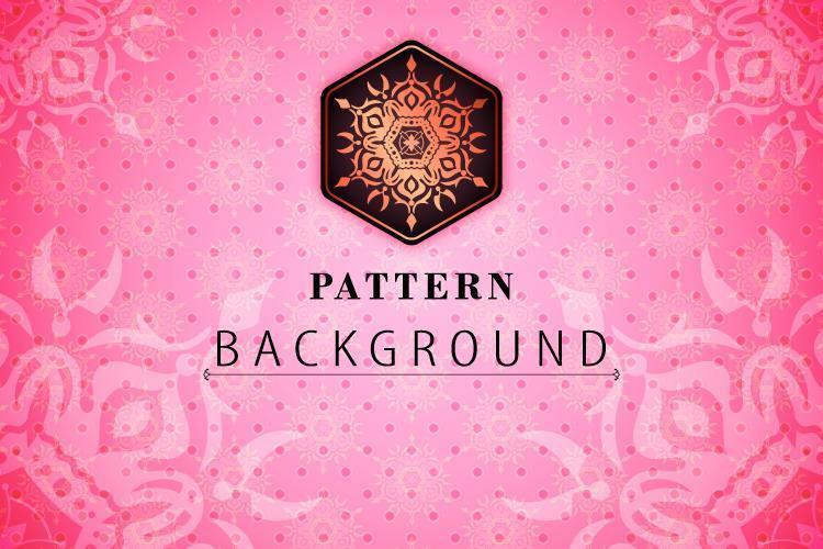 Roze patroon texturen achtergrond vector