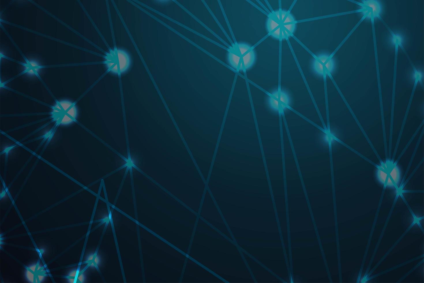 technologische verbinding donkere kleur achtergrond vector