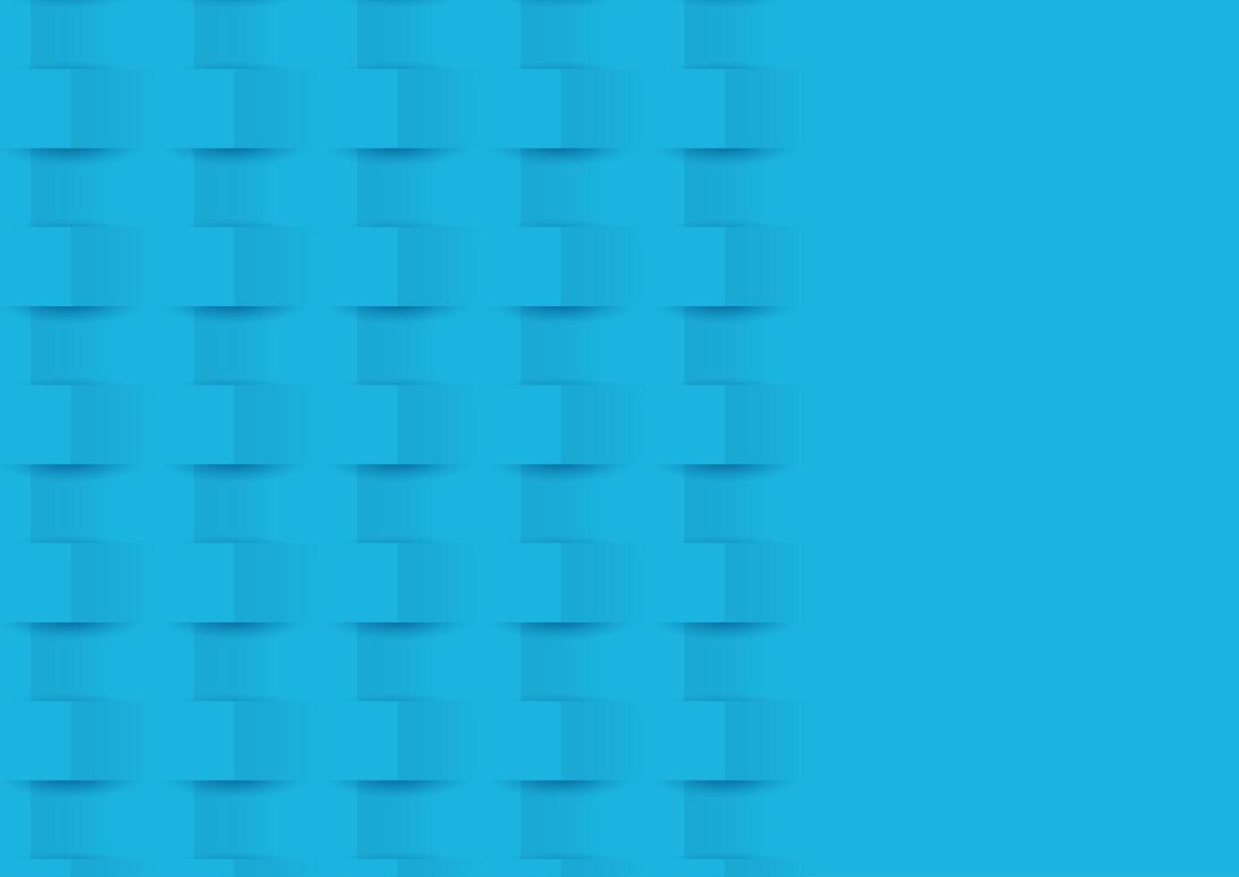 abstracte blauwe pop-upachtergrond vector
