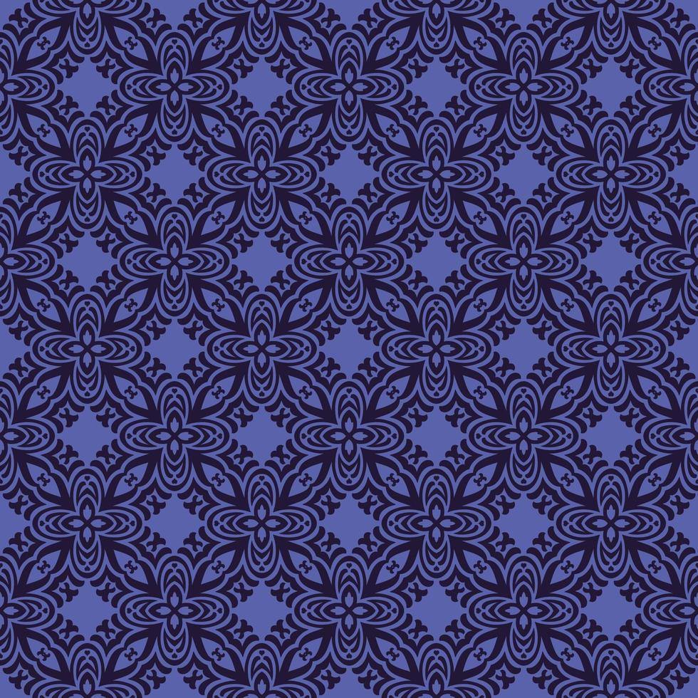 paars met marine details geometrisch patroon vector