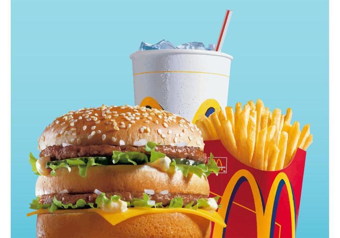 Mac-menu vector
