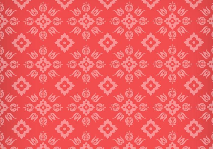 Bloemen Ornament Vector Patroon
