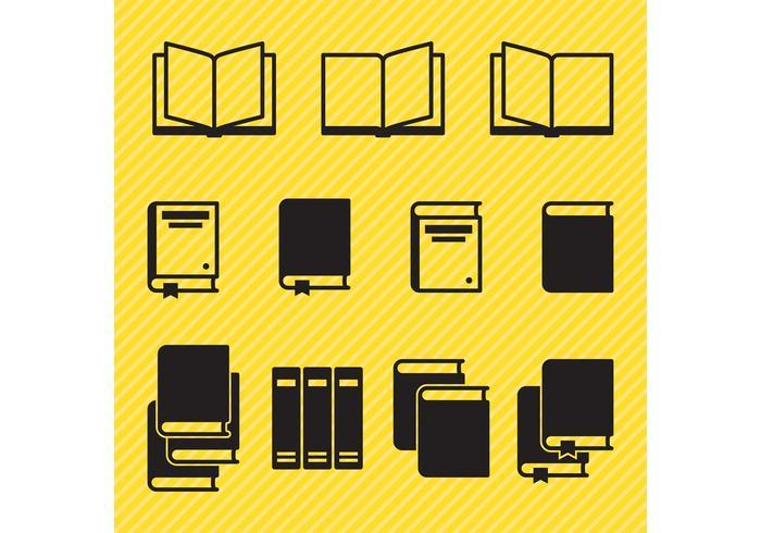 Pictogramboekvectoren vector