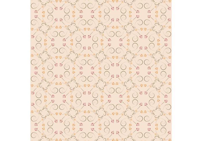 Subtiel Swirly Patroon vector