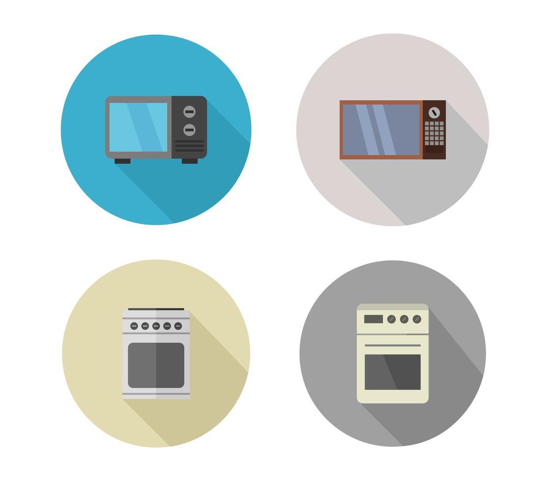oven pictogramserie vector
