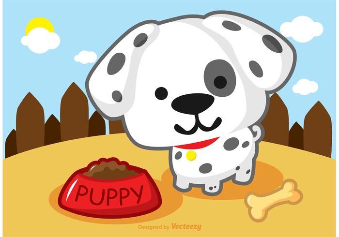 Dalmatisch Puppy vector