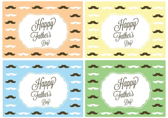 Gratis Vector Gelukkige Vaderdagskaart