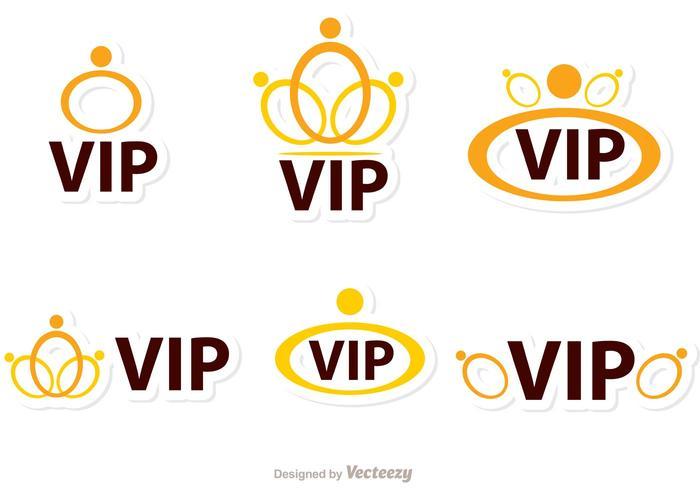 Ringen Vip Pictogrammen Vector Pack