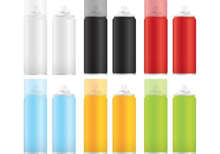 Paint Spray Can Vector